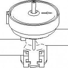 Supapa control, agent frigorific OPEL OMEGA B 2.5 TD - TOPRAN 207 465 - Supapa Control Incalzire
