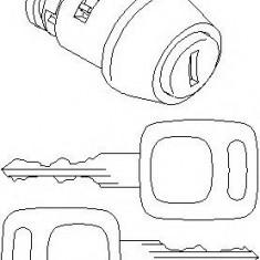 Cilindru de inchidere, aprindere AUDI FOX 1.3 - TOPRAN 107 090 - Butuc incuietoare