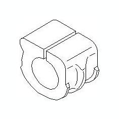 Bucsa, bara stabilizatoare AUDI TT 1.8 T - TOPRAN 108 134 - Bieleta antiruliu