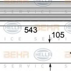 Intercooler, compresor BMW 5 limuzina 530 d - HELLA 8ML 376 746-461 - Intercooler turbo