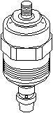 Opritor,injectie AUDI 100 limuzina 2.5 TDI - TOPRAN 107 539