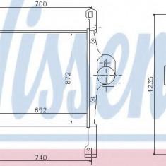 Intercooler, compresor IVECO Stralis AS 440S54 - NISSENS 97022 - Intercooler turbo