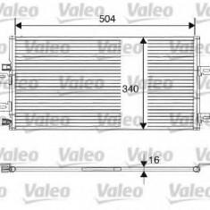 Condensator, climatizare RENAULT KANGOO Rapid 1.9 dCi 4x4 - VALEO 817687 - Radiator aer conditionat