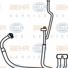 Conducta inalta presiune, aer conditionat FORD TRANSIT CONNECT 1.8 16V - HELLA 9GS 351 337-221 - Furtunuri aer conditionat auto