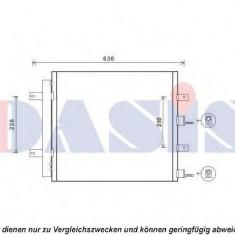 Condensator, climatizare JAGUAR S-TYPE limuzina 3.0 V6 - AKS DASIS 372014N - Radiator aer conditionat KLOKKERHOLM