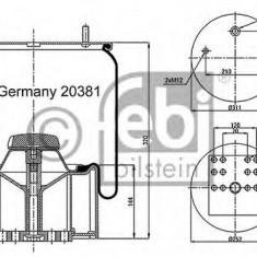 Burduf, suspensie pneumatica - FEBI BILSTEIN 20381