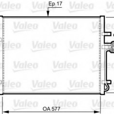 Condensator, climatizare FORD MONDEO IV limuzina 1.6 Ti - VALEO 814360 - Radiator aer conditionat