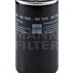 Filtru hidraulic, cutie de viteze automata - MANN-FILTER WD 724/4