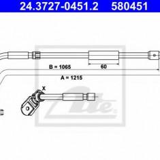 Cablu, frana de parcare MERCEDES-BENZ A-CLASS E-CELL - ATE 24.3727-0451.2