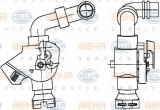 Supapa control, agent frigorific MAN TGA 18.410, 18.420 FC, FRC, FLC, FLRC, FLLC, FLLW, FLLRC, FLLRW - HELLA 9XL 351 029-071
