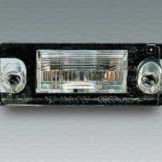 Iluminare numar de circulatie AUDI A4 limuzina 1.6 - MAGNETI MARELLI 714044850601