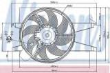 Ventilator, radiator - NISSENS 85580