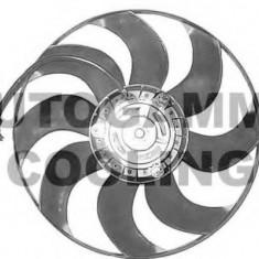 Ventilator, radiator SKODA FABIA 1.2 12V - AUTOGAMMA GA200424 - Electroventilator auto