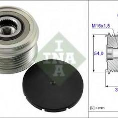 Sistem roata libera, generator FIAT PANDA 1.3 D Multijet 4x4 - INA 535 0063 10 - Fulie