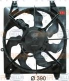 Ventilator, radiator HYUNDAI SANTA FÉ II 2.2 CRDi 4x4 - HELLA 8EW 351 034-721, PIERBURG
