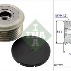Sistem roata libera, generator LANCIA PHEDRA 2.2 JTD - INA 535 0039 10 - Fulie