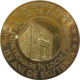 B363 MEDALIA SCOALA nr2 MIRCEA CEL BATRAN GIURGIU 113 ANI DE EXISTENTA 2001