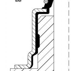 Etansare, supape FORD FIESTA Mk III 1.8 16V - CORTECO 12016587 - Simeringuri SWAG