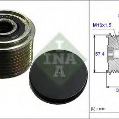 Sistem roata libera, generator MERCEDES-BENZ ECONIC 1823 L, 1823 LL - INA 535 0068 10 - Fulie