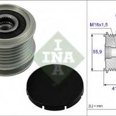 Sistem roata libera, generator AUDI A3 1.9 TDI - INA 535 0010 10 - Fulie