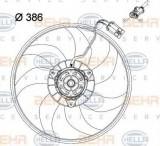 Ventilator, radiator VAUXHALL COMBO Mk II caroserie inchisa/combi 1.4 16V - HELLA 8EW 351 034-431, PIERBURG