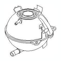 Vas de expansiune, racire VW PASSAT 1.4 TSI - TOPRAN 110 055 - Vas expansiune