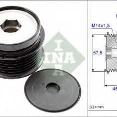 Sistem roata libera, generator JEEP WRANGLER III 2.8 CRD - INA 535 0174 10 - Fulie