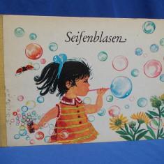 CARTE COPII IN LIMBA GERMANA / SEIFENBLASEN - LEIPZIG - 1970 - Carte educativa