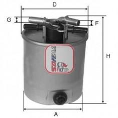 Filtru combustibil SWAG NISSAN X-TRAIL 2.0 dCi FWD - SOFIMA S 4026 NR