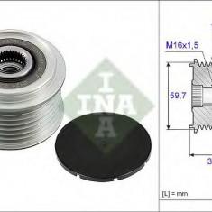 Sistem roata libera, generator OPEL MOVANO autobasculanta 3.0 DTI - INA 535 0053 10 - Fulie