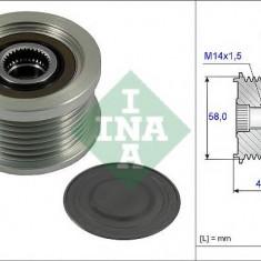 Sistem roata libera, generator TOYOTA LAND CRUISER PRADO 3.0 D-4D - INA 535 0232 10 - Fulie