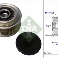 Sistem roata libera, generator KIA SORENTO I 2.5 CRDi - INA 535 0079 10 - Fulie