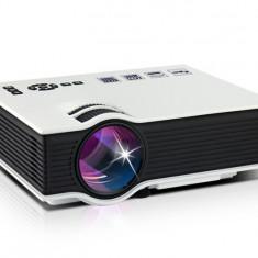 VideoProiector LED Techstar BT400 White compatibil HDMI, USB si SD