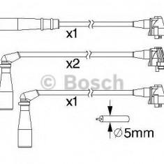 Set cablaj aprinder TOYOTA COROLLA hatchback 1.3 12V - BOSCH 0 986 357 171 - Fise bujii