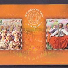 Costume populare, folclor, Lituania. - Timbre straine, Nestampilat
