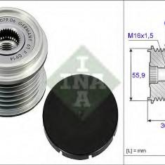 Sistem roata libera, generator CHRYSLER VOYAGER Mk II 2.5 TD - INA 535 0026 10 - Fulie