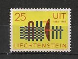 Liechtenstein.1965 100 ani UIT  CL.32