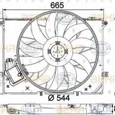 Ventilator, radiator MERCEDES-BENZ CL-CLASS cupe CL 600 - HELLA 8EW 351 040-091 PIERBURG