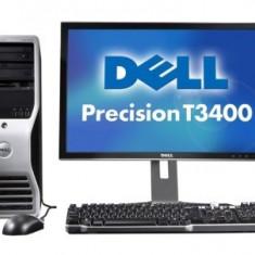 Pachet Dell Precision T3400, Core 2 Duo E6850, 3.0Ghz, 4Gb DDR2, 320GB HDD 12707 - Sisteme desktop cu monitor Dell, Intel Core 2 Duo, 2501-3000Mhz, 200-499 GB, 15 inch