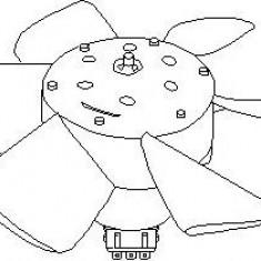 Ventilator, radiator AUDI 4000 1.6 - TOPRAN 102 547 - Electroventilator auto