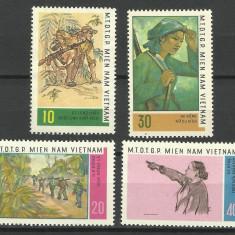 SERIE VIETNAM 1968 - Timbre straine, Nestampilat
