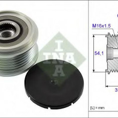 Sistem roata libera, generator CITROËN C3 I 1.4 HDi - INA 535 0059 10 - Fulie
