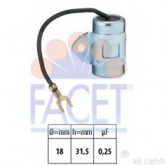 Condensator, aprindere SEAT IBIZA  0.9 - FACET 0.0392 - Delcou