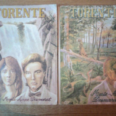 TORENTE, VOL. I - II de MARIE ANNE DESMAREST, Craiova 1992 - Carte in alte limbi straine