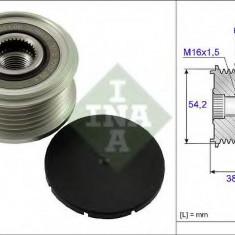 Sistem roata libera, generator PEUGEOT EXPERT Tepee 2.0 HDi 120 4x4 - INA 535 0062 10 - Fulie