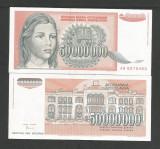 IUGOSLAVIA  50000000   50.000.000  DINARI  1993   XF+++  a  UNC  [2]  P-123