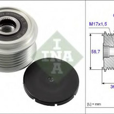 Sistem roata libera, generator FORD FOCUS 1.8 TDCi - INA 535 0098 10 - Fulie