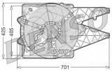 Ventilator, radiator - DENSO DER09101