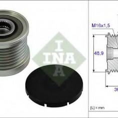 Sistem roata libera, generator OPEL MOVANO autobasculanta 2.5 DTI - INA 535 0081 10 - Fulie