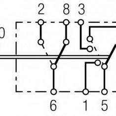 Comutator, lumini de avarie - HELLA 6HH 007 832-591 - Intrerupator - Regulator Auto